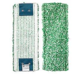Mop klips Mikrofibra mikro zielony pętelkowy 40cm