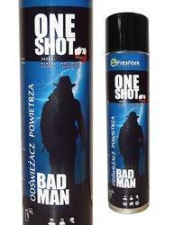 One Shot Bad Man męski zapach Odświeżacz powietrza 600ml