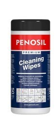 PEONSIL Ściereczki 50szt do czyszczenia zabrudzeń nieutwardzonej piany poliuretanowej silikonów klejów farb z różnych powierzchni oraz rąk i narzędzi