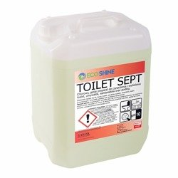 TOILET SEPT 5L Żel czyszczenia wybielania toalet