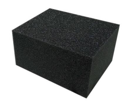 Cartec Gąbka Vinylowa Mała Czarna