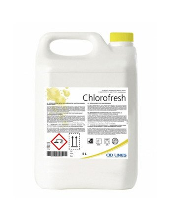 Cid Lines CHLOROFRESH 5L aktywny chlor dezynfekcja łazienek koszy toalet