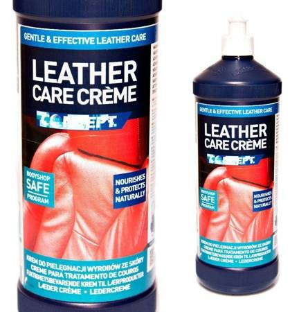 Concept Leather Care Cream 1L konserwacja skóry krem odżywka