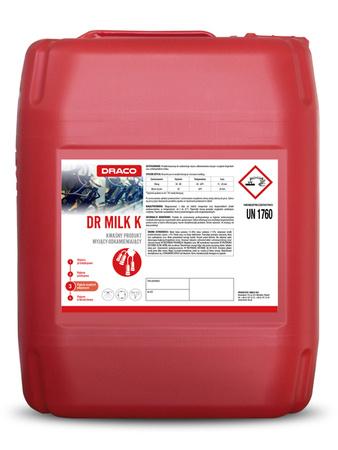 DRACO Dr Milk K kwasowy mycie odkamienianie dojarek 23kg