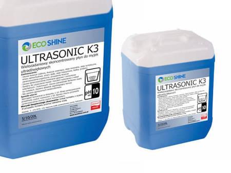 ECO SHINE ULTRASONIC K3 10L koncentrat do myjek ultradźwięko