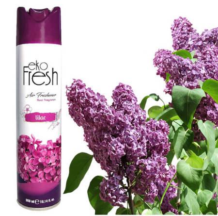 KALA EkoFresh odświeżacz powietrza neutralizator zapachów dom biuro 300ml Lilac Bez