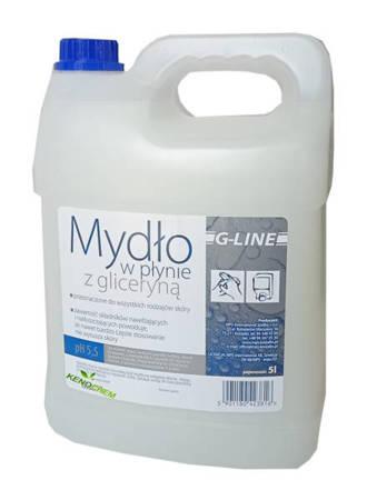 Mydło w płynie  z gliceryną  Kwiatowe Świeże 5L