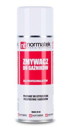 NORMATEK zmywacz DO GAŹNIKÓW 400ml spray