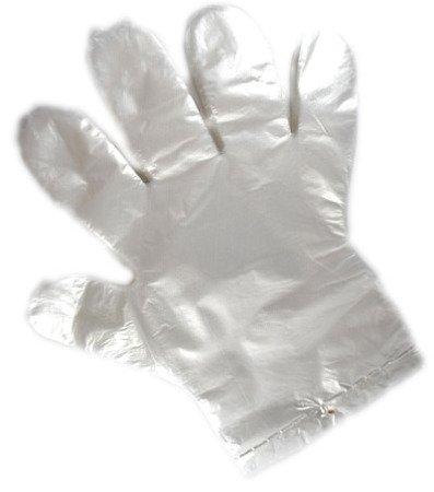 Rękawice foliowe jednorazowe r.M A100