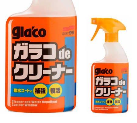SOFT99 GLACO DE CLEANER czyści niewidialne wycieraczki
