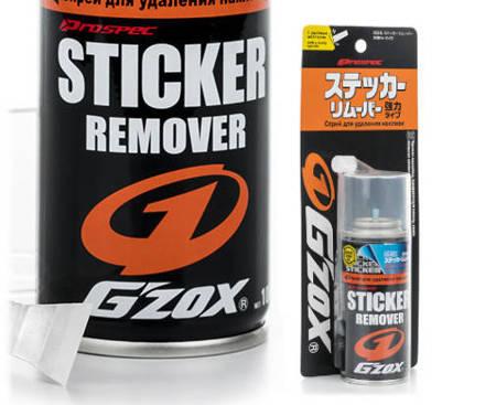 SOFT99 Gzox Sticker Remover Usuwanie Naklejek REJESTRACYJNYCH kleju Skuteczny