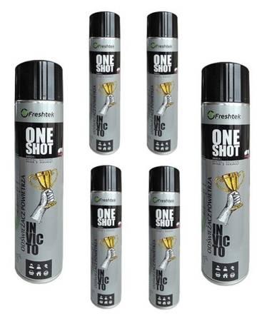 Zestaw 6x600ml One Shot INVICTOneutralizacja zapachów